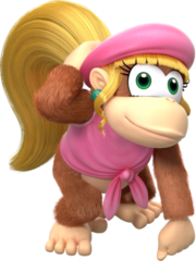 360px-Dixie Kong - Donkey Kong Country Tropical Freeze