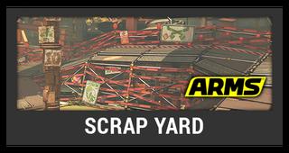 ACL -- Super Smash Bros. Switch stage box - Scrap Yard