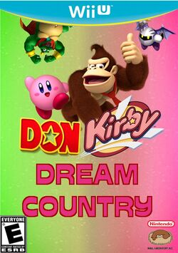 DonKirby Dream Country Boxart