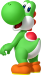 Yoshi Artwork - Mario Party Islar