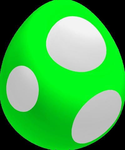 File:Lime Baby Yoshi Egg.png