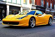 Ferrari 458 Italia in London