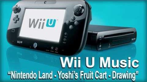 Yoshi's Fruit Cart Drawing (Nintendo Land)