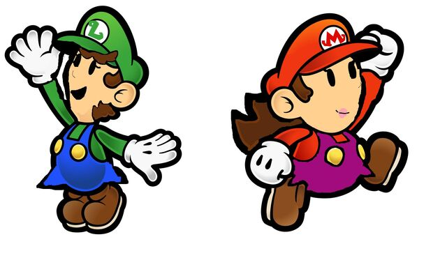 File:Paper Mario and Paper Luise.jpg