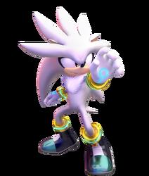 Silver the hedgehog by fentonxd-d5wxeoo