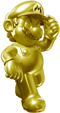 File:Golden Mario Statues SM3DW.png