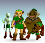 Young Link & Deku Link & Goron Link & Zora Link SSBTT