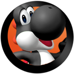 File:MHWii BlackYoshi icon.png