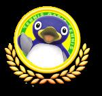 Penguin Tennis Icon