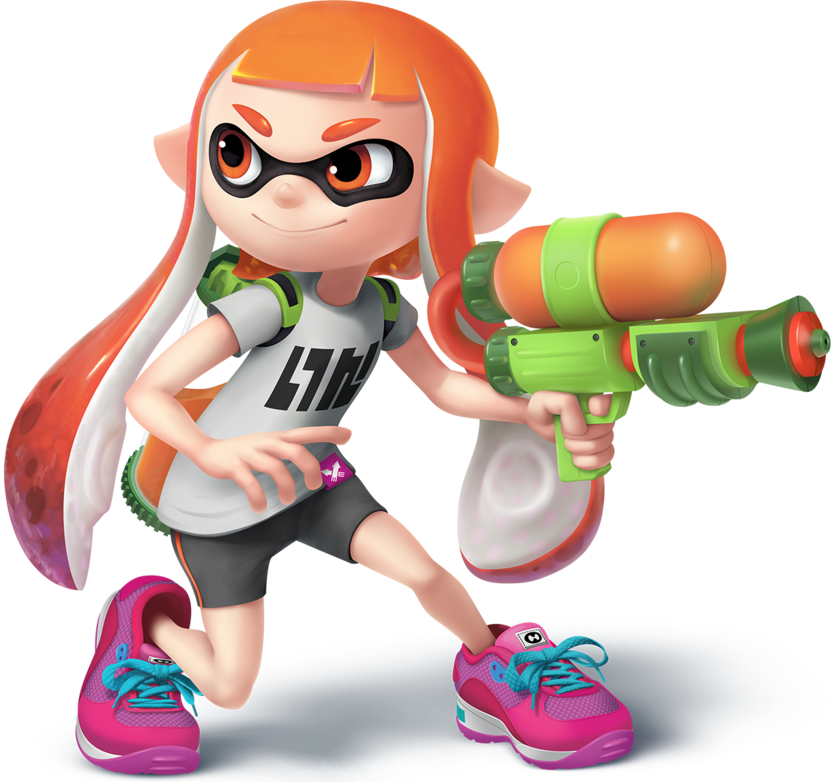 Image Inkling Girl Transparent By Sean The Artist