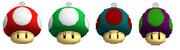 Toy Mushrooms