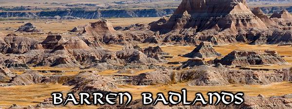 CeR Barren Badlands