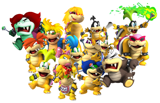 File:All the Koopalings.png