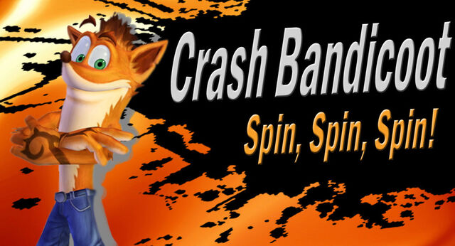 Fichier:Crash bandicoot ssb4 request by elemental aura-d6eqq2q.jpg