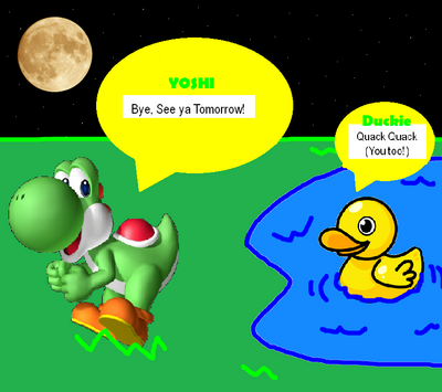 Duckie and Yoshi 2
