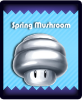 Super Mario & the Ludu Tree - Powerup Spring Mushroom