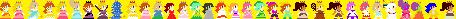 Mario Princesses - SMM Style