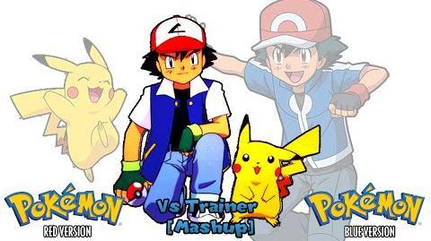 Pokemon R B Y & Anime - Trainer Battle Music Mashup (HQ)