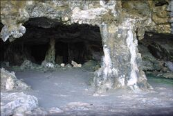 Inside-cave