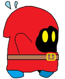 Unmasked Shy-Guy