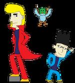 Hisao and Kool Man Alt. 1