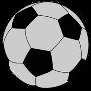 Football Ball Silver