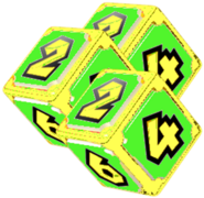 Triple Dice Block