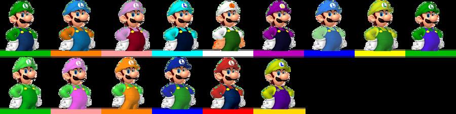FOW-LuigiColors