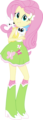 Equestria girls fluttershy vector by icantunloveyou-d9olxh6