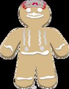 Gingerbreadman Mario