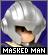 IconMasked Man