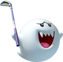 Boo Artwork - Mario Golf World Tour