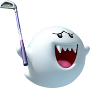 Boo Artwork - Mario Golf World Tour