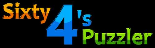 Sixty 4's Puzzler Logo