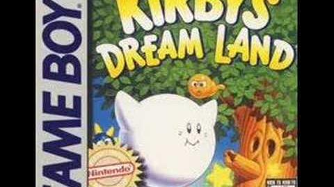 Kirby's Dreamland - Whispy Woods