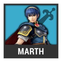 ACL -- Super Smash Bros. Switch character box - Marth