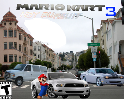 Mario Kart Hot Pursuit 3