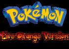 Pokemon Fire-Orange Version Logo