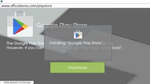 Installing Play Store on Zen OS