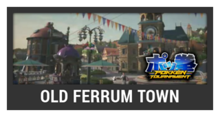 ACL -- Super Smash Bros. Switch stage box - Old Ferrum Town