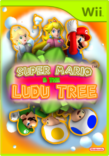 Super Mario & the Ludu Tree - Cover
