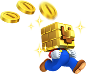 Gold Block Mario NSMB2