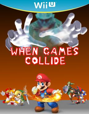 When games colide box