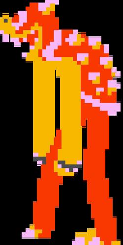 LankyWeirdRed Bowser Sprite