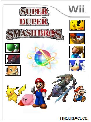 File:Super Duper Smash Bros. Cover Art.png