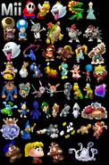 MKCC Unlockable Characters