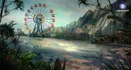 Farcry3 early-concept amusement-park scrapped-idea