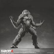 Far Cry 4 DLC Valley of the Yetis concept art by XuZhang (42)
