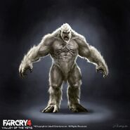 Far Cry 4 DLC Valley of the Yetis concept art by XuZhang (67)