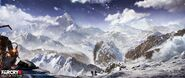 Far Cry 4 DLC Valley of the Yetis concept art by XuZhang (30)